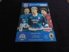 Ipswich Town v Leicester City, 1995/96